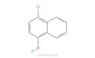 CAS:604-44-4_4-氯-1-萘酚的分子结构