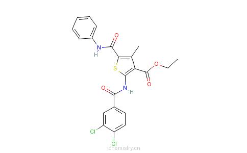 CAS:6047-26-3的分子结构