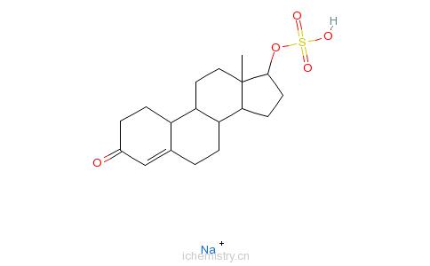 CAS:60672-82-4_硫酸诺龙钠盐的分子结构