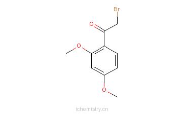 CAS:60965-26-6_2-溴-2',4'-二甲氧基苯乙酮的分子结构