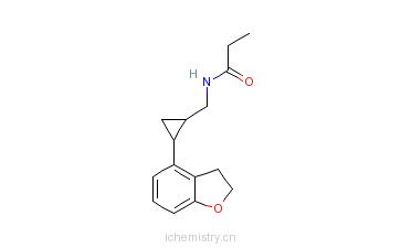 CAS:609799-22-6_他司美琼的分子结构