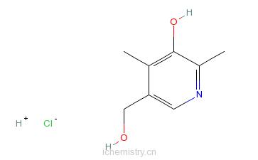CAS:61-67-6的分子结构