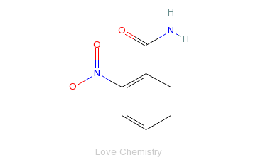 CAS:610-15-1_2-硝基苯甲酰胺的分子结构