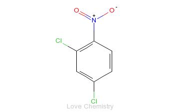 CAS:611-06-3_2,4-二氯硝基苯的分子结构