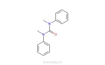 CAS:611-92-7_N,N-二甲基-N,N-二苯脲的分子结构