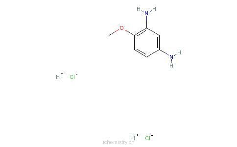 CAS:614-94-8_2,4-二氨基甲醚的分子结构