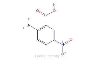 CAS:616-79-5_2-氨基-5-硝基苯甲酸的分子结构