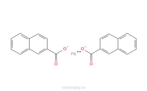 CAS:61790-14-5_环烷酸铅的分子结构