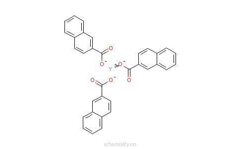 CAS:61790-20-3_环烷酸稀土的分子结构