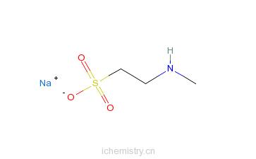 CAS:61791-42-2_2-(甲氨基)-乙磺酸-N-椰油酰基衍生物钠盐的分子结构