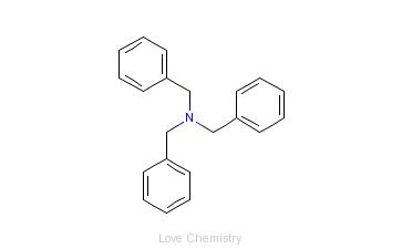 CAS:620-40-6_三苄胺的分子结构