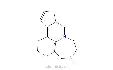 CAS:620948-93-8_戊卡色林的分子结构