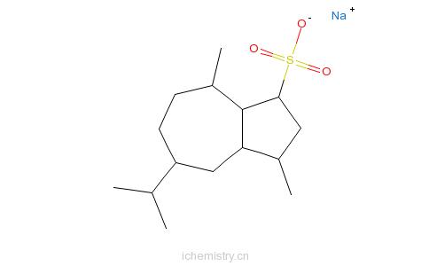 CAS:6223-35-4_�磺酸钠的分子结构
