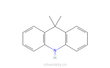CAS:6267-02-3_9,10-二氢-9,9-二甲基吖啶的分子结构