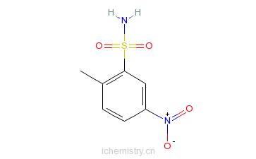 CAS:6269-91-6_2-甲基-5-硝基苯磺酰胺的分子结构