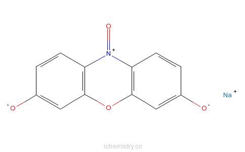 CAS:62758-13-8_刃天青钠的分子结构