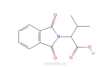 CAS:6306-54-3_2-酞酰亚胺基-3-甲基丁酸的分子结构