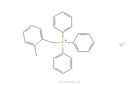 CAS:63368-36-5_2-甲基三苯基氯化磷的分子结构