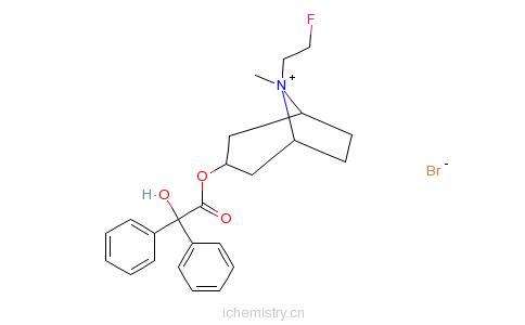 CAS:63516-07-4_氟托溴铵的分子结构