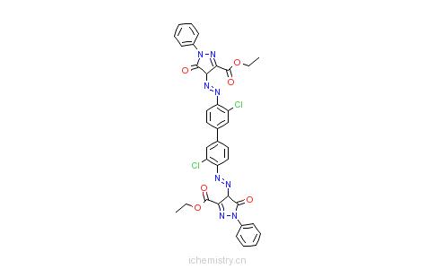 CAS:6358-87-8_颜料红38的分子结构
