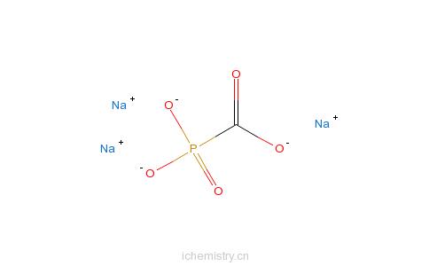 CAS:63585-09-1_膦甲酸钠的分子结构