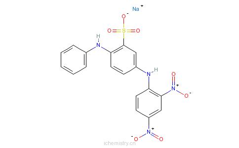 CAS:6373-74-6_酸性橙3的分子结构