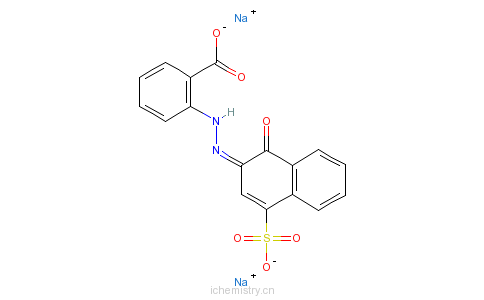 CAS:6408-82-8_媒介紫2的分子结构