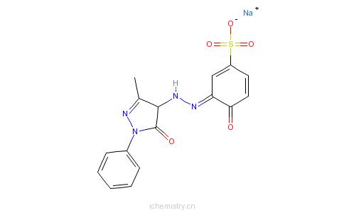 CAS:6441-98-1_媒介橙37的分子结构