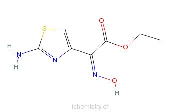CAS:64485-82-1_去甲氨噻肟酸乙酯的分子结构