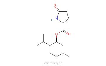 CAS:64519-44-4_薄荷醇PCA酯的分子结构