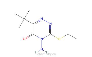 CAS:64529-56-2_乙嗪草酮的分子结构