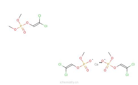 CAS:6465-92-5_钙敌畏的分子结构