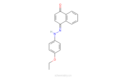 CAS:6535-42-8_溶剂红3的分子结构