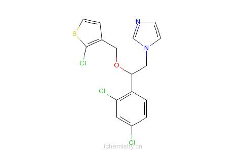 CAS:65899-73-2_噻康唑的分子结构