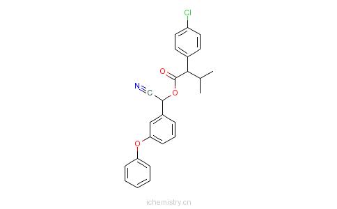 CAS:66230-04-4_S-氰戊菊酯的分子结构