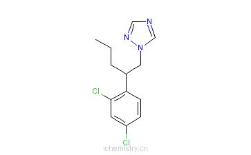 CAS:66246-88-6_戊菌唑的分子结构
