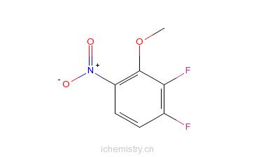 CAS:66684-65-9_2,3-二氟-6-硝基苯甲醚的分子结构
