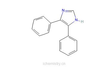 CAS:668-94-0_4,5-二甲苯-1H-咪唑的分子结构