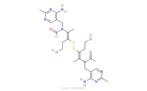 CAS:67-16-3_二硫化硫胺的分子结构
