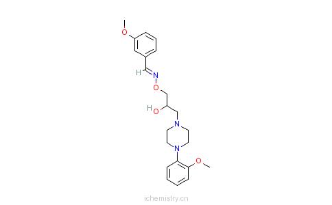 CAS:67254-81-3_哌拉肟的分子结构