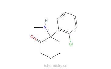 CAS:6740-88-1_氯胺酮的分子结构