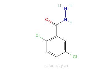 CAS:67487-35-8_2,5-二氯苯酰肼的分子结构