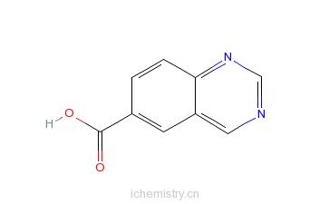 CAS:676326-53-7_喹唑啉-6-羧酸的分子结构