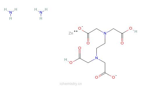 CAS:67859-51-2_EDTA-锌铵络合物的分子结构