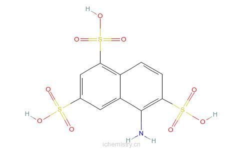 CAS:67900-43-0_5-氨基-1,3,6-萘三磺酸的分子结构