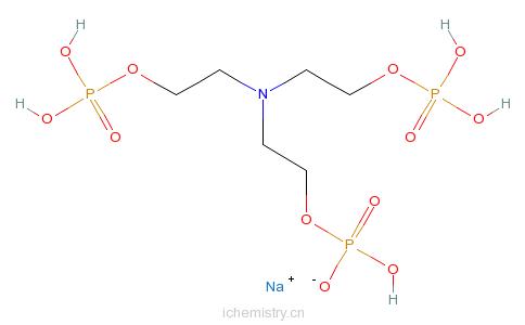 CAS:68171-29-9_三乙醇胺三(二氢磷酯)钠盐的分子结构