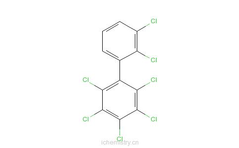 CAS:68194-16-1_2,2',3,3',4,5,6-七氯联苯的分子结构