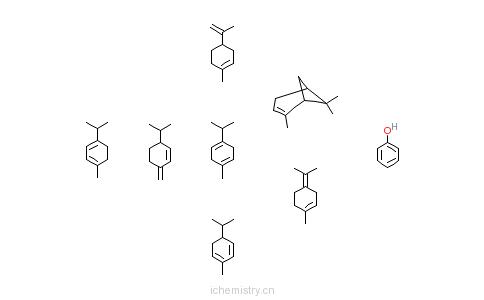 CAS:68240-08-4_萜烯苯酚的合成树脂的分子结构