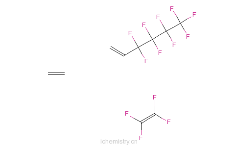 CAS:68258-85-5_3,3,4,4,5,5,6,6,6-九氟-1-己烯、乙烯、四氟乙烯的共聚物的分子结构