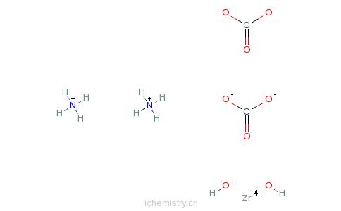 CAS:68309-95-5_碳酸锆铵的分子结构